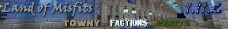 Banner for Land Of Misfits Minecraft server
