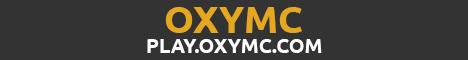Banner for OxyMC Minecraft server
