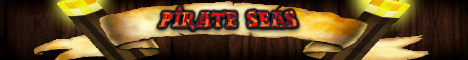 Banner for Pirate Seas Minecraft server