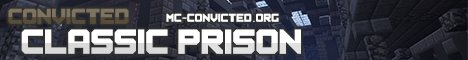 Banner for Convicted Bains Penitentiary (Longest Running Prison!) Minecraft server