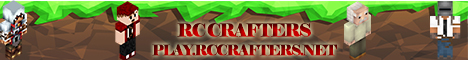 Banner for RC-Crafters Minecraft server