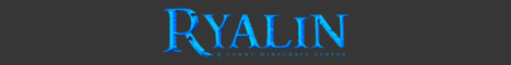 Banner for Ryalin Minecraft server