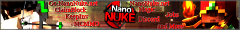 Banner for NanoMC Minecraft server