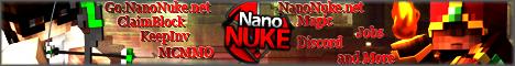 Banner for NanoMC server