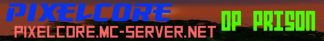 Banner for PixelCore Minecraft server