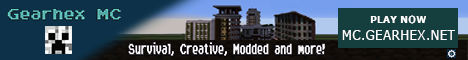 Banner for Gearhex MC server