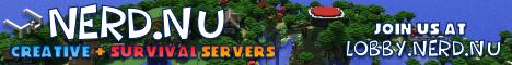 Banner for Nerd.nu Minecraft Servers Minecraft server