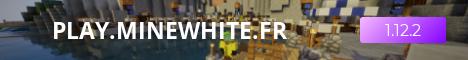 Banner for Minewhite Minecraft server