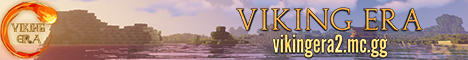 Banner for Viking Era 2.0 Minecraft server