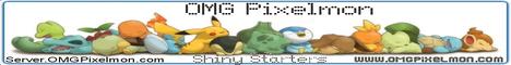 Banner for OMG Pixelmon Minecraft server
