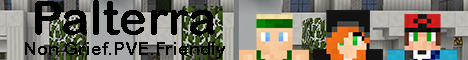 Banner for Palterra Minecraft server
