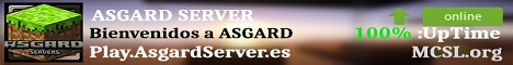 Banner for Asgard Server Minecraft server