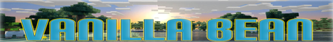 Banner for Vanilla Bean MC Minecraft server