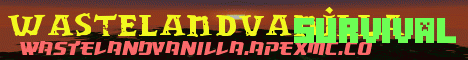 Banner for WasteLandVanilla server