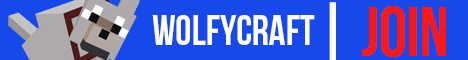 Banner for WolfyCraft Minecraft server