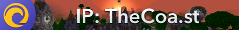 Banner for The Coast Network Minecraft server