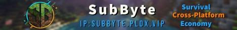Banner for SubByte.Official server