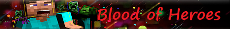 Banner for bloodheroes.net ★ 1.14.4 ★ Factions ★ server
