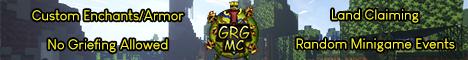 Banner for GRG:MC server