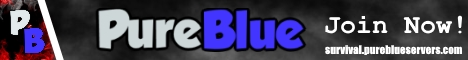 Banner for Pure Blue [Survival]  [Friendly Community] Minecraft server