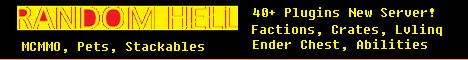 Banner for Random Hell server