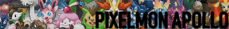 Banner for Pixelmon | Apollo - Alpha server