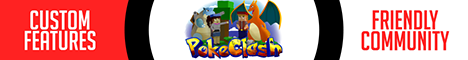 Banner for PokeClash - Pixelmon Reforged 7.2 Minecraft server