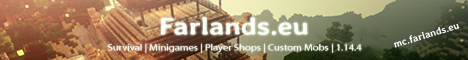 Banner for Farlands server