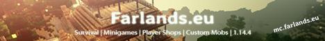Banner for Farlands Minecraft server
