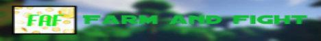 Banner for Farmandfight Minecraft server