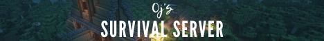 Banner for OJ's Survival Server server