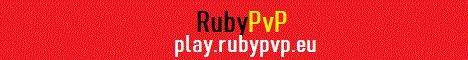 Banner for RubyPvP server