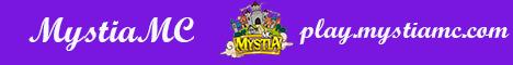 Banner for MystiaMC server