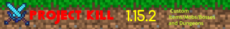 Banner for ProjectKill server