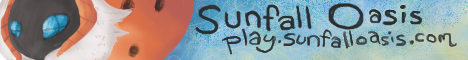 Banner for Sunfall Oasis Minecraft server