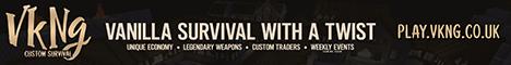 Banner for VKNG Survival server