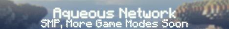 Banner for Aqueous Network server