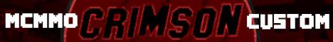 Banner for CrimsonMC server
