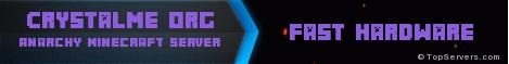 Banner for Crystalme.org server