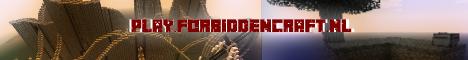 Banner for ForbiddenCraft Minecraft server