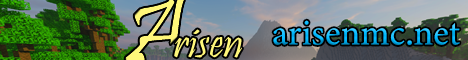 Banner for Arisen server