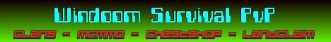 Banner for Windoom SMP Minecraft server