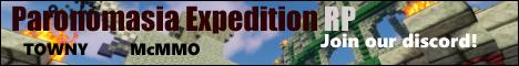 Banner for Paronomasia Expedition Minecraft server