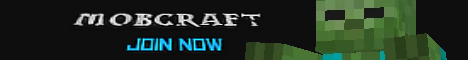 Banner for MobCraft Minecraft server