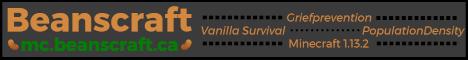 Banner for Beanscraft - Survival Multiplayer Minecraft server