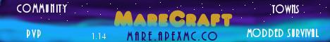 Banner for MareCraft Minecraft server