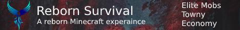 Banner for Reborn Survival server