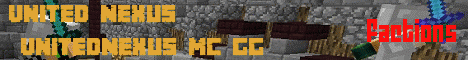 Banner for United Nexus Minecraft server