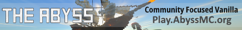Banner for Abyss Season 4 Minecraft server