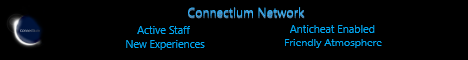 Banner for Connectium Network server